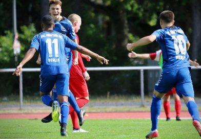 Hertha 03 rettet Blau-Weiß 90 die Oberliga