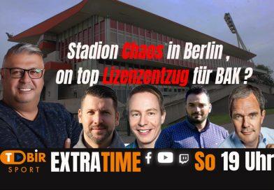 Update: Stadion Chaos in Berlin, on top droht BAK Lizenzentzug ?