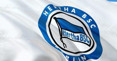 Hertha BSC Flagge
